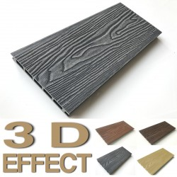 Listoni WPC 3D  2200x146x25mm -  Cream