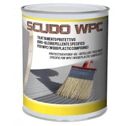 Listoni WPC 3D  2200x146x25mm -  Antracite